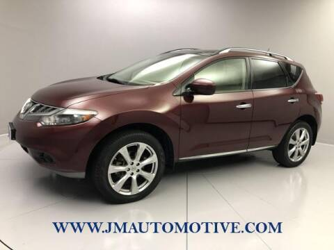 2012 Nissan Murano for sale at J & M Automotive in Naugatuck CT