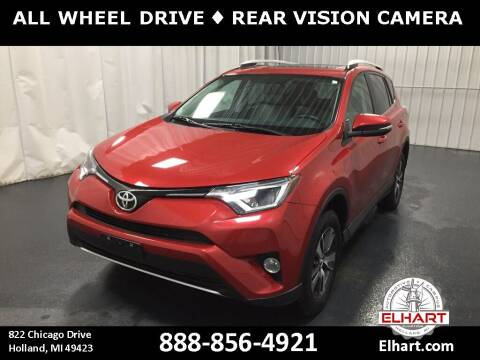2016 Toyota RAV4 for sale at Elhart Automotive Campus in Holland MI