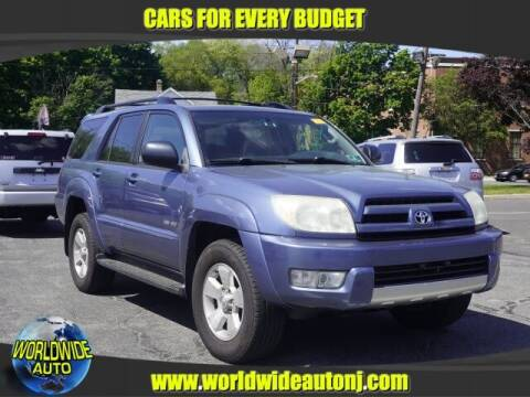 2004 Toyota 4Runner for sale at Worldwide Auto in Hamilton NJ