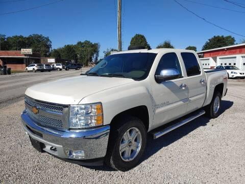 2013 Chevrolet Silverado 1500 for sale at VAUGHN'S USED CARS in Guin AL