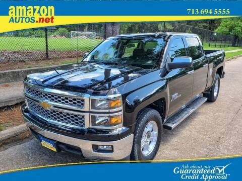 2014 Chevrolet Silverado 1500 for sale at Amazon Autos in Houston TX