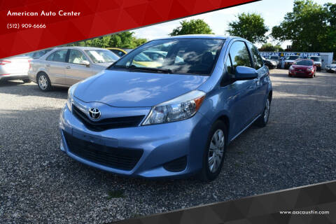 2014 Toyota Yaris for sale at American Auto Center in Austin TX