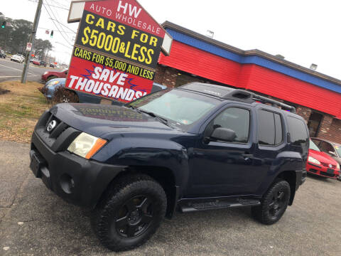 2007 Nissan Xterra for sale at HW Auto Wholesale in Norfolk VA