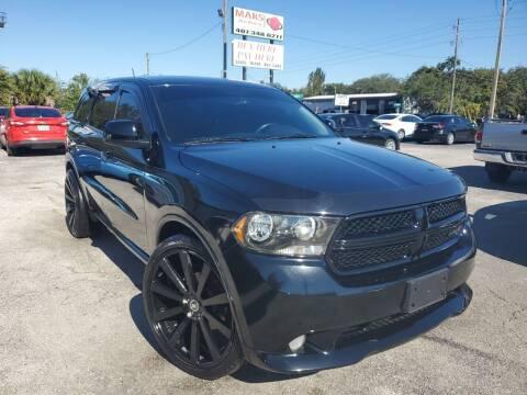 2013 Dodge Durango for sale at Mars auto trade llc in Kissimmee FL