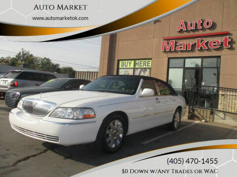 2005 Lincoln Town Car for sale at Auto Market in Oklahoma City OK