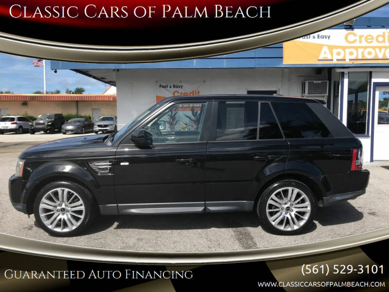 2013 Land Rover Range Rover Sport for sale at Classic Cars of Palm Beach in Jupiter FL