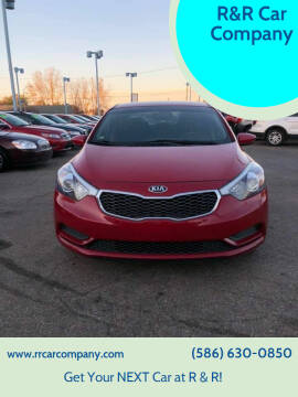2016 Kia Forte for sale at R&R Car Company in Mount Clemens MI
