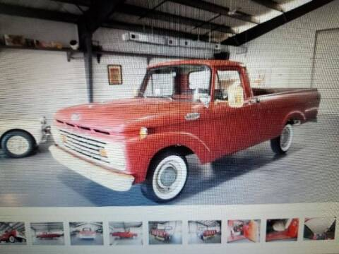 1963 Ford F-100 for sale at Classic Car Deals in Cadillac MI