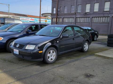 2002 Volkswagen Jetta for sale at Aberdeen Auto Sales in Aberdeen WA