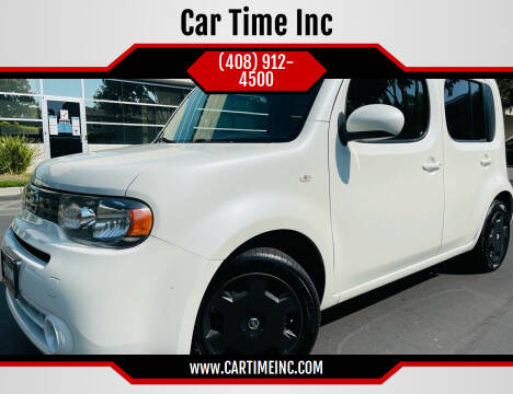 2013 Nissan cube for sale at Car Time Inc in San Jose CA