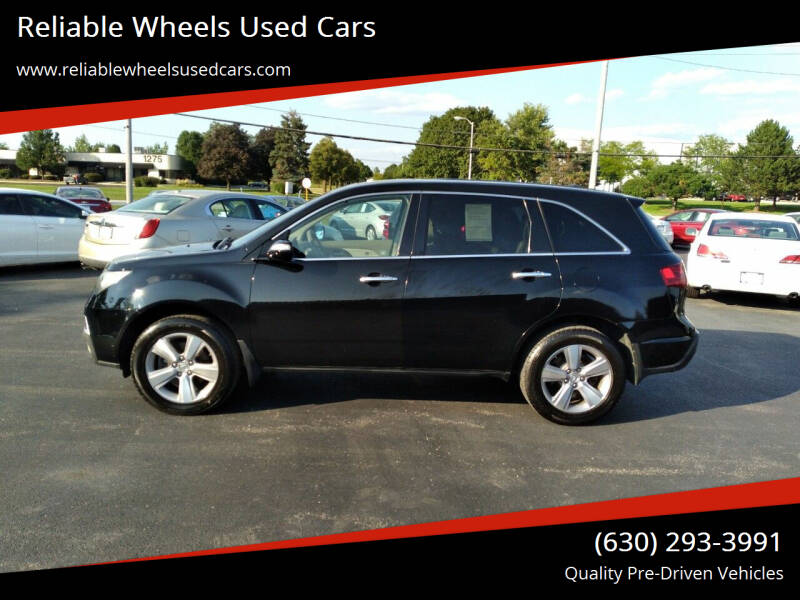 2011 Acura MDX for sale at Reliable Wheels Used Cars in West Chicago IL