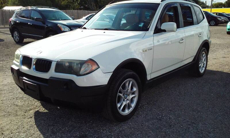 2005 BMW X3 for sale at Pinellas Auto Brokers in Saint Petersburg FL