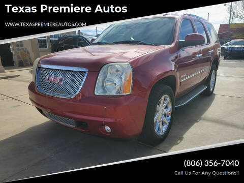 2014 GMC Yukon for sale at Texas Premiere Autos in Amarillo TX