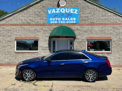 2015 Cadillac CTS for sale at VAZQUEZ AUTO SALES in Bloomington IL