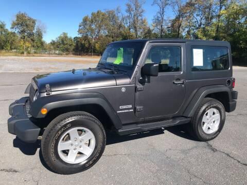 2017 Jeep Wrangler for sale at Augusta Auto Sales in Waynesboro VA