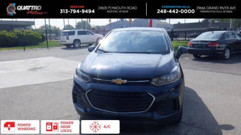 2019 Chevrolet Trax for sale at Quattro Motors 2 - 1 in Redford MI