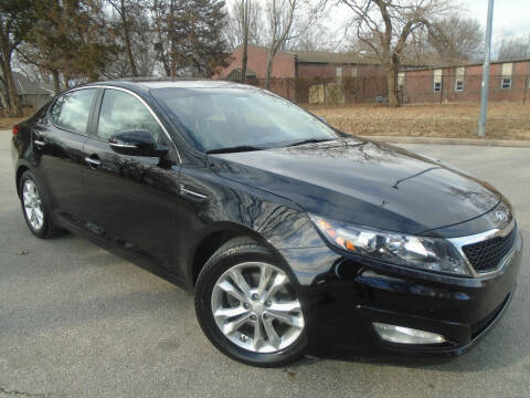 2012 Kia Optima for sale at Sunshine Auto Sales in Kansas City MO