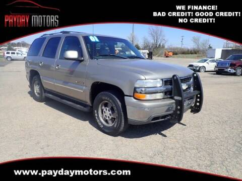 2001 Chevrolet Tahoe for sale at Payday Motors in Wichita And Topeka KS
