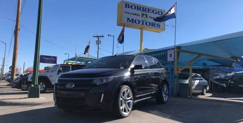 2013 Ford Edge for sale at Borrego Motors in El Paso TX