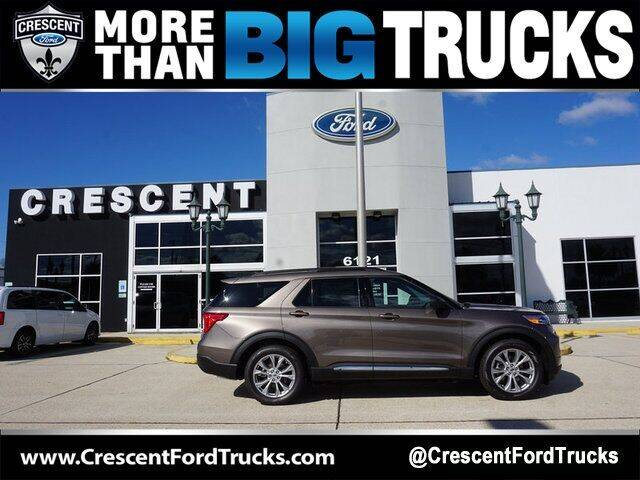 2021 Ford Explorer for sale at Crescent Ford in Harahan LA