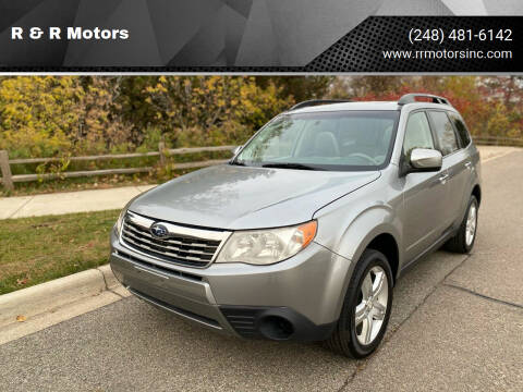 2010 Subaru Forester for sale at R & R Motors in Waterford MI