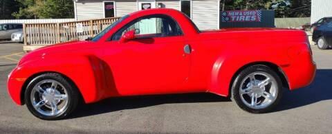 2004 Chevrolet SSR for sale at Hilltop Auto in Prescott MI