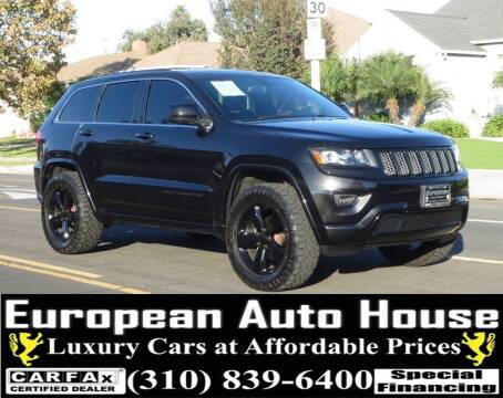2015 Jeep Grand Cherokee for sale at European Auto House in Los Angeles CA