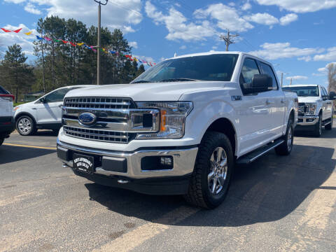 2018 Ford F-150 for sale at Affordable Auto Sales in Webster WI