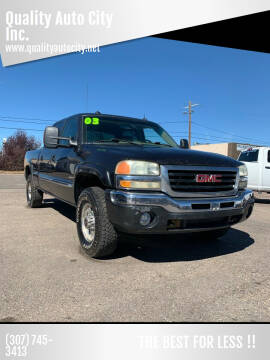 2003 GMC Sierra 1500HD for sale at Quality Auto City Inc. in Laramie WY
