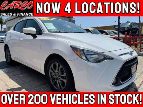 2019 Toyota Yaris for sale at CARCO SALES & FINANCE in Chula Vista CA
