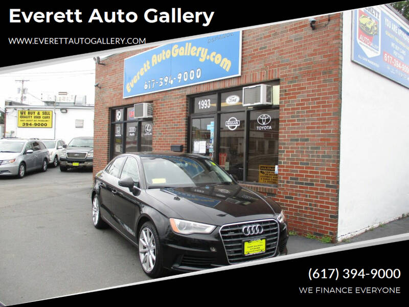 2016 Audi A3 for sale at Everett Auto Gallery in Everett MA