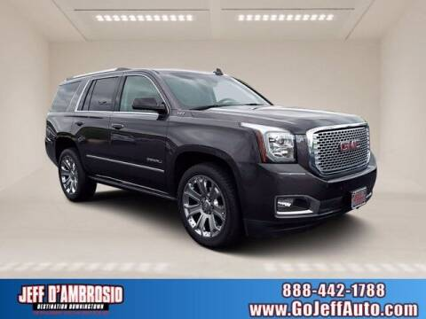 2017 GMC Yukon for sale at Jeff D'Ambrosio Auto Group in Downingtown PA