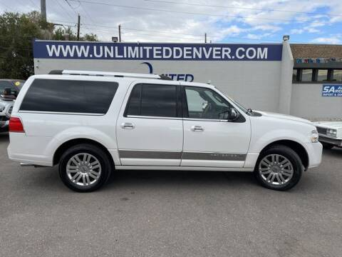 2013 Lincoln Navigator L for sale at Unlimited Auto Sales in Denver CO