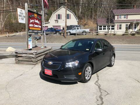 2014 Chevrolet Cruze for sale at Jerry Dudley's Auto Connection in Barre VT