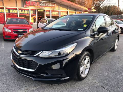 2017 Chevrolet Cruze for sale at Mira Auto Sales in Raleigh NC