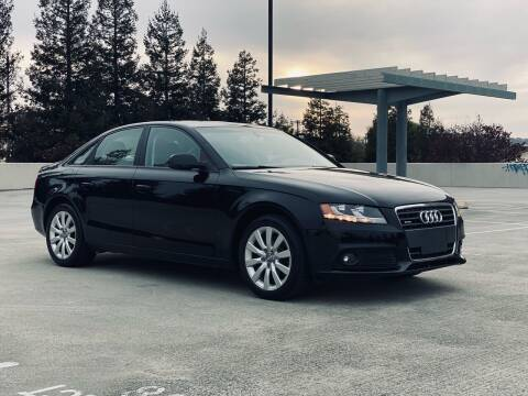 2012 Audi A4 for sale at BSL Bay Sport & Luxury in Redwood City CA