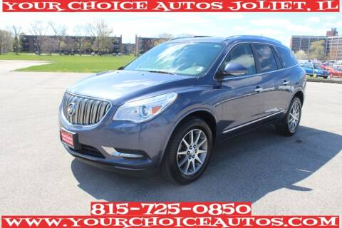 2014 Buick Enclave for sale at Your Choice Autos - Joliet in Joliet IL