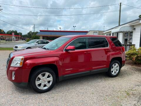 2013 GMC Terrain for sale at Robert Sutton Motors in Goldsboro NC