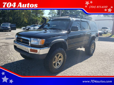 1997 Toyota 4Runner for sale at 704 Autos in Statesville NC