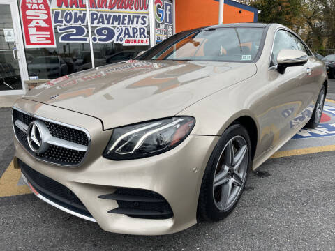2018 Mercedes-Benz E-Class for sale at US AUTO SALES in Baltimore MD