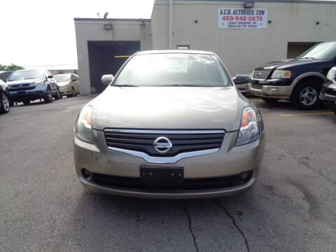 2008 Nissan Altima for sale at ACH AutoHaus in Dallas TX