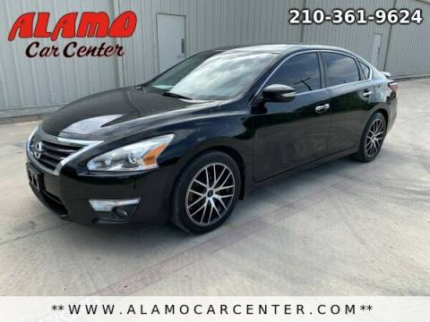 2013 Nissan Altima for sale at Alamo Car Center in San Antonio TX