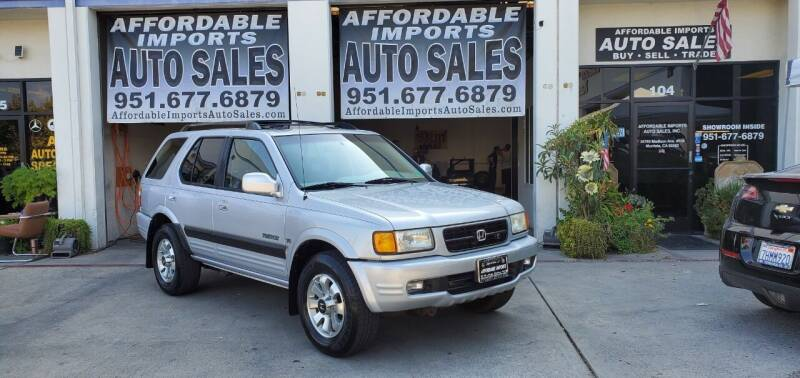 1999 Honda Passport for sale at Affordable Imports Auto Sales in Murrieta CA