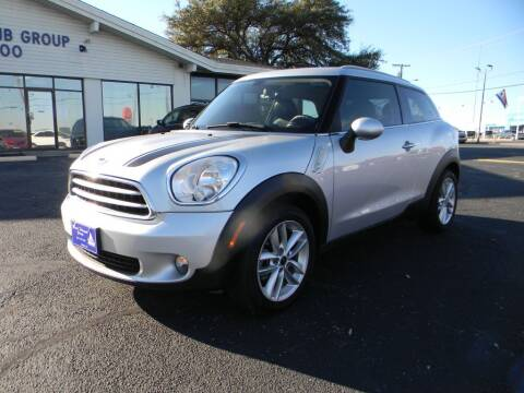 2014 MINI Paceman for sale at MARK HOLCOMB  GROUP PRE-OWNED in Waco TX