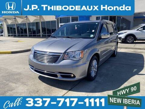2016 Chrysler Town and Country for sale at J P Thibodeaux Used Cars in New Iberia LA