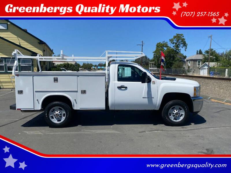 2013 Chevrolet Silverado 2500HD for sale at Greenbergs Quality Motors in Napa CA