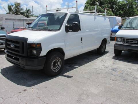 2008 Ford E-Series Cargo for sale at TROPICAL MOTOR CARS INC in Miami FL