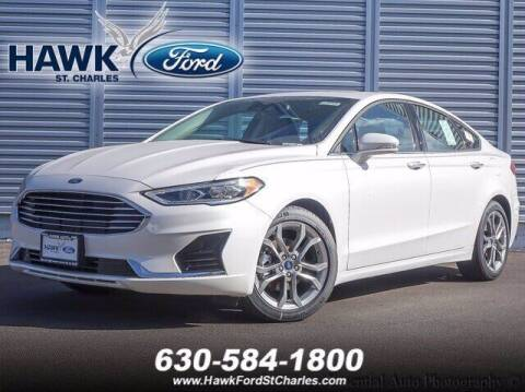 2020 Ford Fusion for sale at Hawk Ford of St. Charles in Saint Charles IL