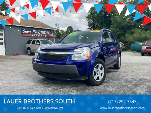 2006 Chevrolet Equinox for sale at LAUER BROTHERS SOUTH in York PA