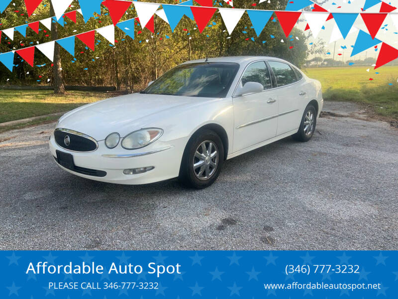 2005 Buick LaCrosse for sale at Affordable Auto Spot in Houston TX